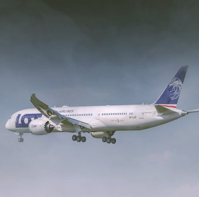 samolot, lot, Polska