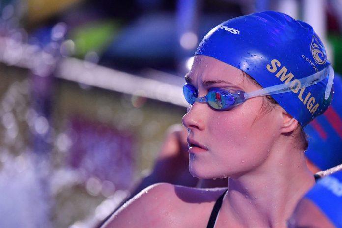 Olivia Smoliga Glenview Pływaczka USA