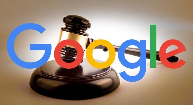 Pozew USA Google, Google w sądzie