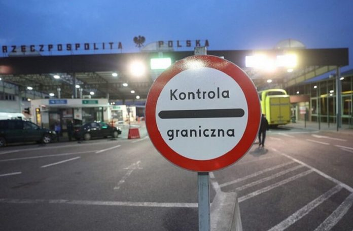 Polska granica imigranci