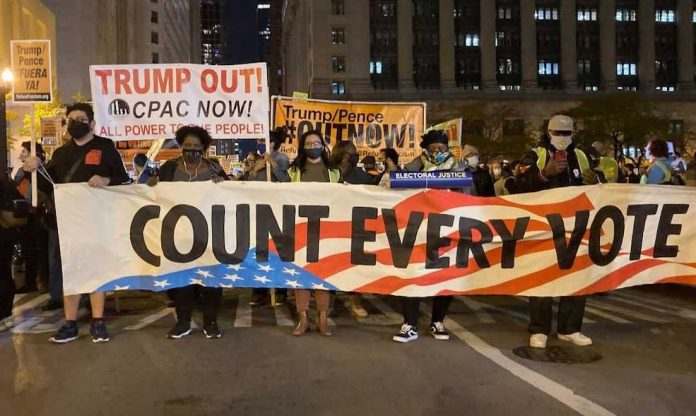 Chicago wybory protest
