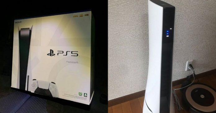 konsola PS5 oczyszczacz powietrza