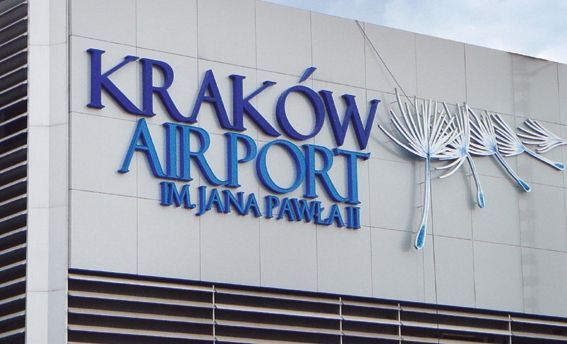 Krakow Airport lotnisko