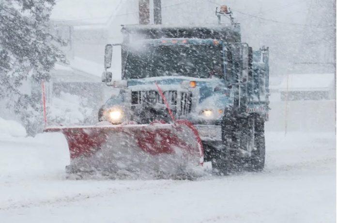 Śnieg Burza Zima