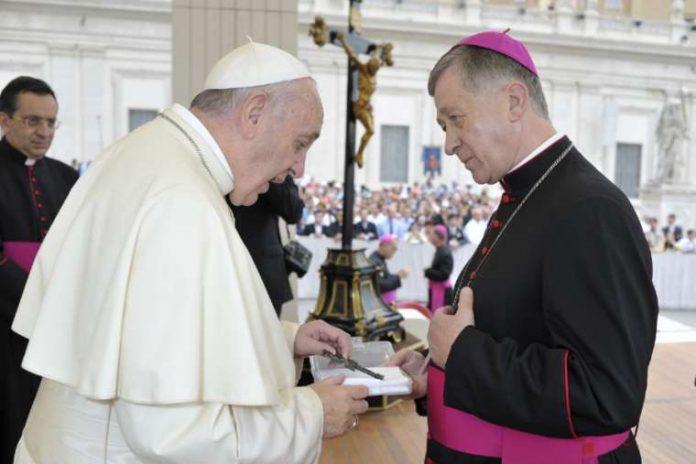 Papież Franciszek kardynał Blase Cupich