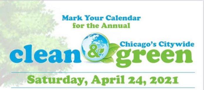 DSS Chicago dzień sprzątania miasta