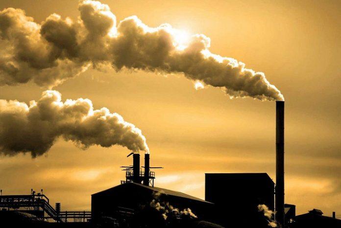 emisja carbon CO2 gaz cieplarniany