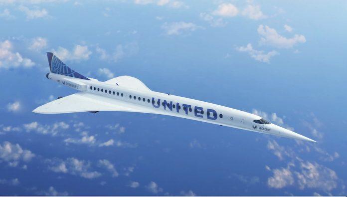 United samolot Boom Supersonic