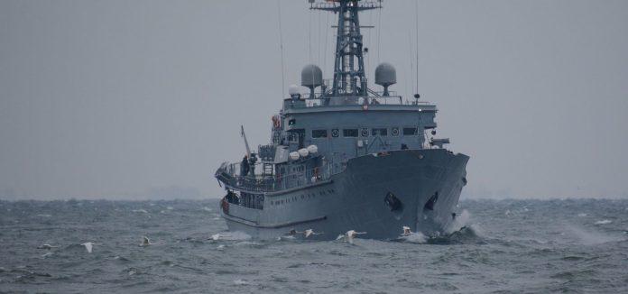 Okręt ORP Wodnik