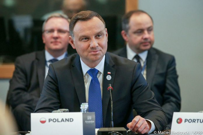 President Andrzej Duda at the Meeting of the Arraiolos Group in Valletta, Malta (1 / 12)